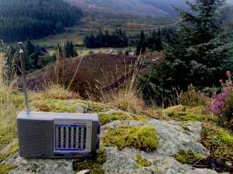 Listening to The Dark Outside FM. Image: Justin Prim