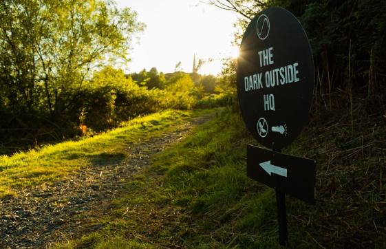 Path to The Dark Outside FM Broadcast Site. Image: Viridan Skies
